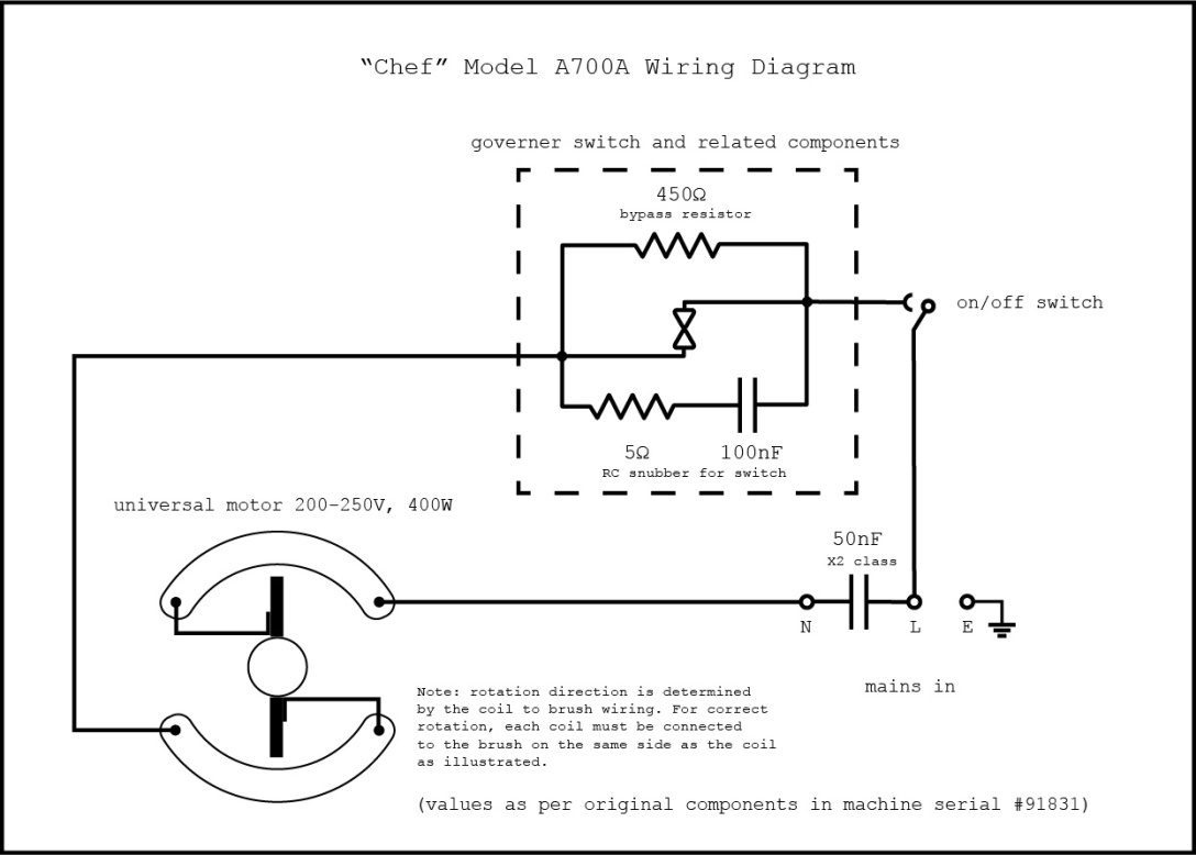A700A Wiring Diagram