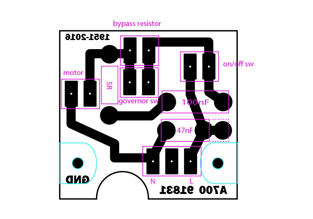 circuit board reverse terminal 2