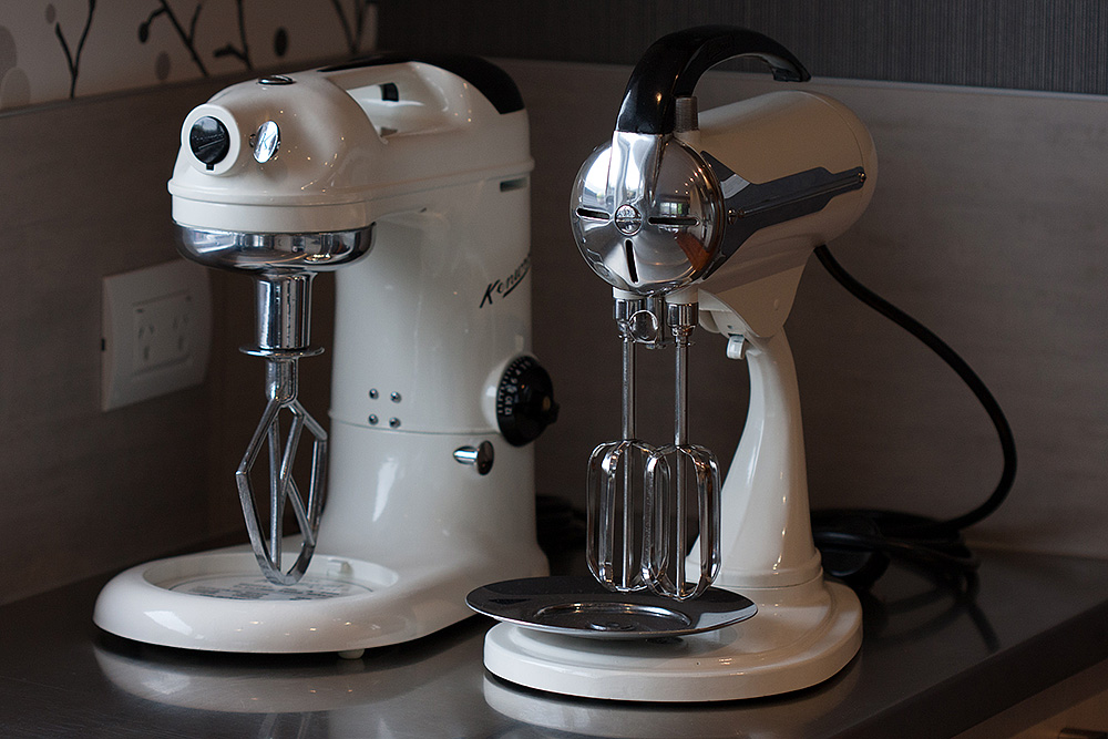 Kenwood A200 and A700A mixers