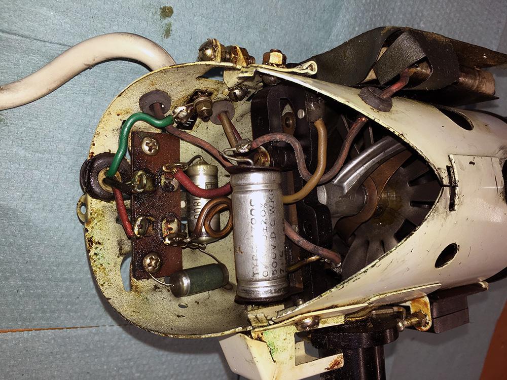 Kenwood A700 wiring detail