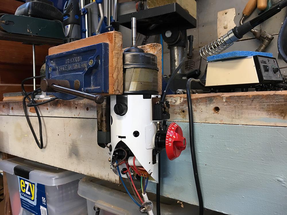 Kenwood A700 motor testing